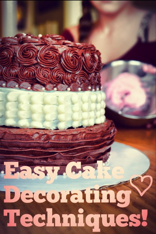 Cake Designs And Techniques : Simple Cake Decorating Techniques! Little Sister Sweets