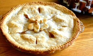 Easy Peach Pie!