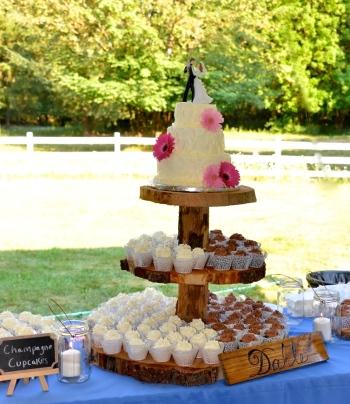 Jessica's Wedding Cake