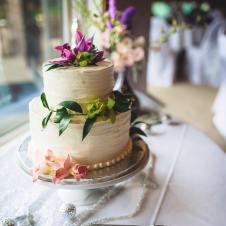 Sam and Karissa Wedding Cake